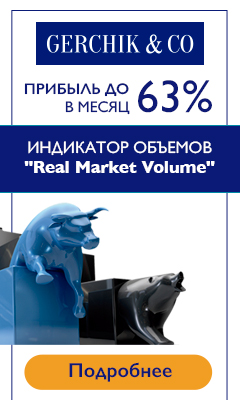Индикатор Real Market Volume от компании Gerchik & Co